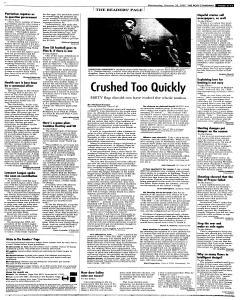 Syracuse Post Standard, October 26, 2005, Page 111