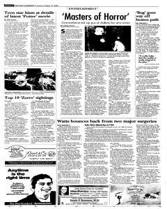 Syracuse Post Standard, October 27, 2005, Page 40
