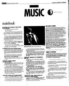 Syracuse Post Standard, October 27, 2005, Page 82
