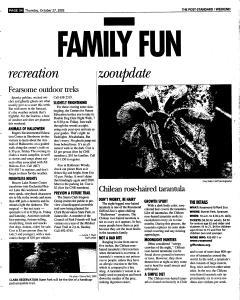 Syracuse Post Standard, October 27, 2005, Page 86
