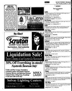 Syracuse Post Standard, October 27, 2005, Page 102