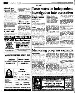 Syracuse Post Standard, October 27, 2005, Page 136
