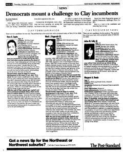 Syracuse Post Standard, October 27, 2005, Page 140