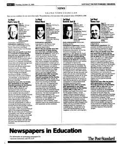 Syracuse Post Standard, October 27, 2005, Page 144