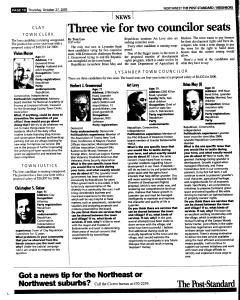 Syracuse Post Standard, October 27, 2005, Page 178
