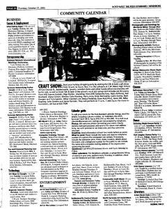 Syracuse Post Standard, October 27, 2005, Page 194