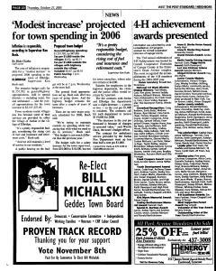 Syracuse Post Standard, October 27, 2005, Page 256