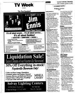 Syracuse Post Standard, October 27, 2005, Page 272