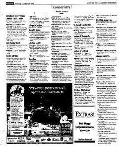 Syracuse Post Standard, October 27, 2005, Page 280