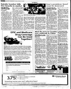 Syracuse Post Standard, October 27, 2005, Page 310