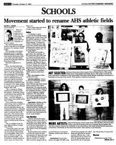 Syracuse Post Standard, October 27, 2005, Page 364