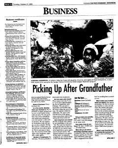 Syracuse Post Standard, October 27, 2005, Page 366