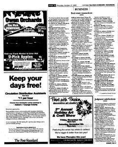 Syracuse Post Standard, October 27, 2005, Page 368