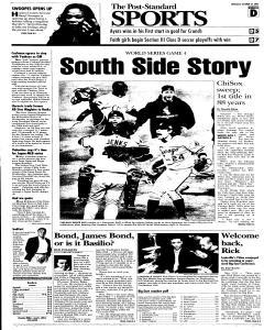 Syracuse Post Standard, October 27, 2005, Page 27