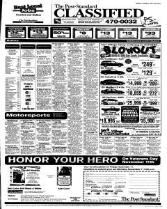 Syracuse Post Standard, October 27, 2005, Page 45