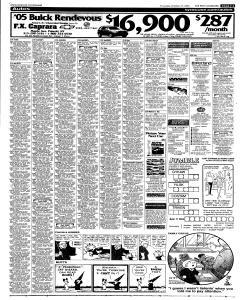 Syracuse Post Standard, October 27, 2005, Page 47
