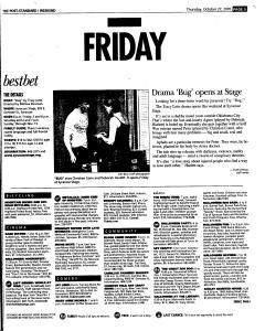 Syracuse Post Standard, October 27, 2005, Page 57