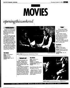 Syracuse Post Standard, October 27, 2005, Page 69