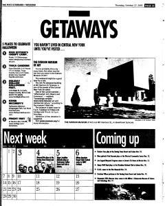 Syracuse Post Standard, October 27, 2005, Page 87