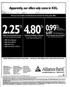 Syracuse Post Standard, October 27, 2005, Page 93