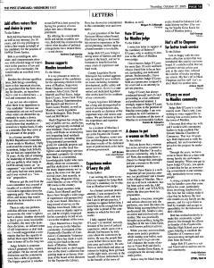 Syracuse Post Standard, October 27, 2005, Page 107