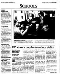 Syracuse Post Standard, October 27, 2005, Page 111