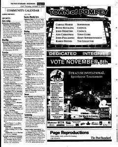 Syracuse Post Standard, October 27, 2005, Page 129