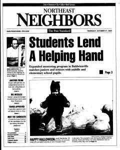 Syracuse Post Standard, October 27, 2005, Page 133