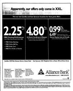 Syracuse Post Standard, October 27, 2005, Page 137