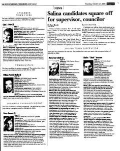 Syracuse Post Standard, October 27, 2005, Page 143
