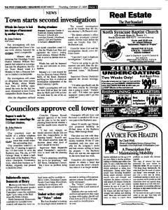 Syracuse Post Standard, October 27, 2005, Page 173