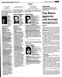 Syracuse Post Standard, October 27, 2005, Page 185
