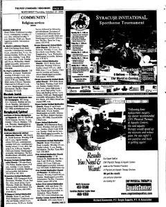 Syracuse Post Standard, October 27, 2005, Page 199