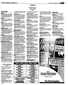 Syracuse Post Standard, October 27, 2005, Page 213