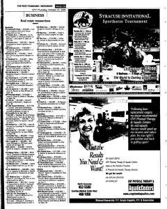 Syracuse Post Standard, October 27, 2005, Page 233