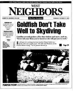 Syracuse Post Standard, October 27, 2005, Page 237