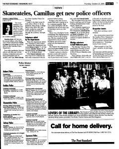 Syracuse Post Standard, October 27, 2005, Page 255