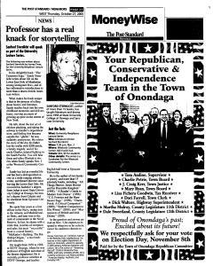 Syracuse Post Standard, October 27, 2005, Page 257