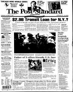 Syracuse Post Standard, October 27, 2005, Page 285
