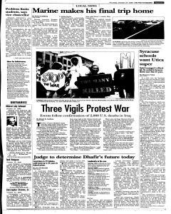 Syracuse Post Standard, October 27, 2005, Page 327