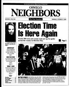 Syracuse Post Standard, October 27, 2005, Page 386