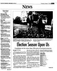 Syracuse Post Standard, October 27, 2005, Page 388