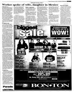 Syracuse Post Standard, October 28, 2005, Page 5