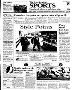 Syracuse Post Standard, October 28, 2005, Page 21