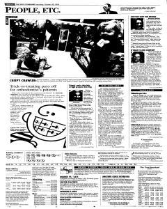 Syracuse Post Standard, October 29, 2005, p. 2