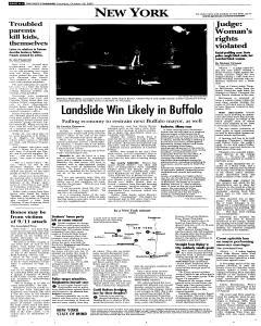 Syracuse Post Standard, October 29, 2005, Page 62