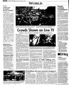 Syracuse Post Standard, October 29, 2005, Page 108