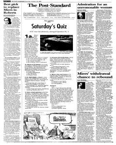 Syracuse Post Standard, October 29, 2005, Page 112