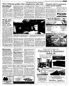 Syracuse Post Standard, October 29, 2005, Page 59