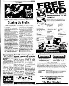 Syracuse Post Standard, October 29, 2005, Page 63